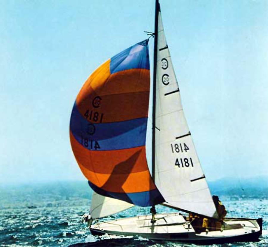 Cal 20 Sailboat Ocean Racer