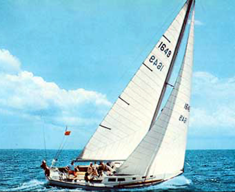 Cal 40 Sailboat from Jensen Marine - Hall of Fame TransPac