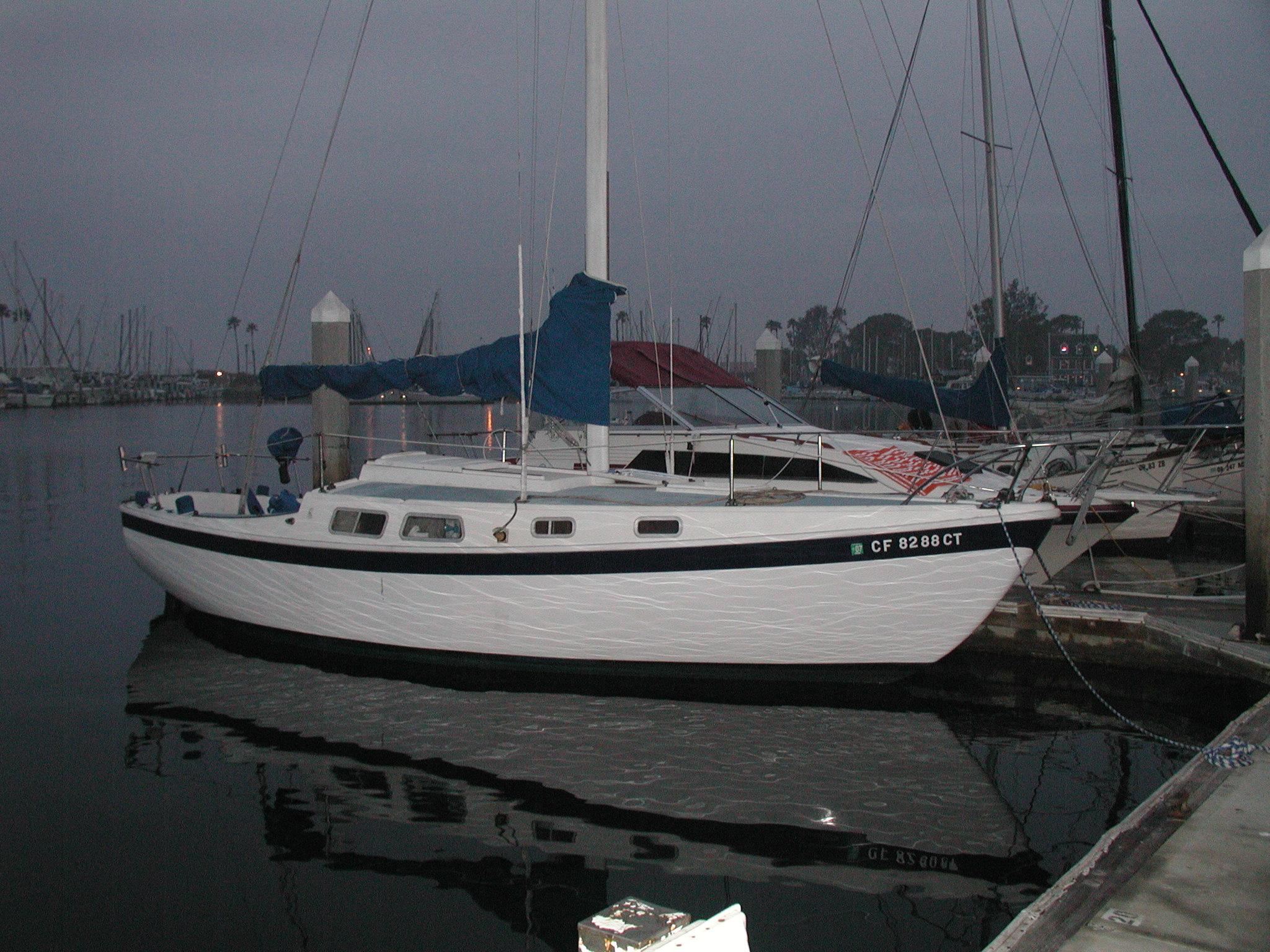 Cal 28 Sailboat 1965 Gangfurd The Boat Bill Lathrop